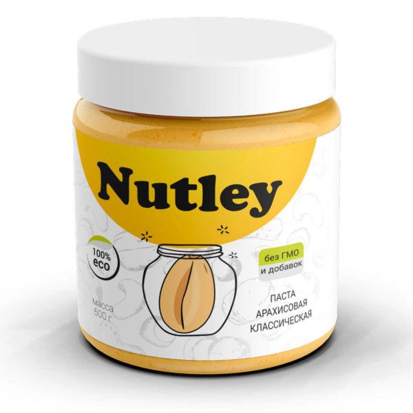 Арахисовая паста классическая Nutley