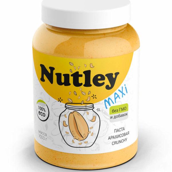 Арахисовая паста хруст. Crunchy Nutley