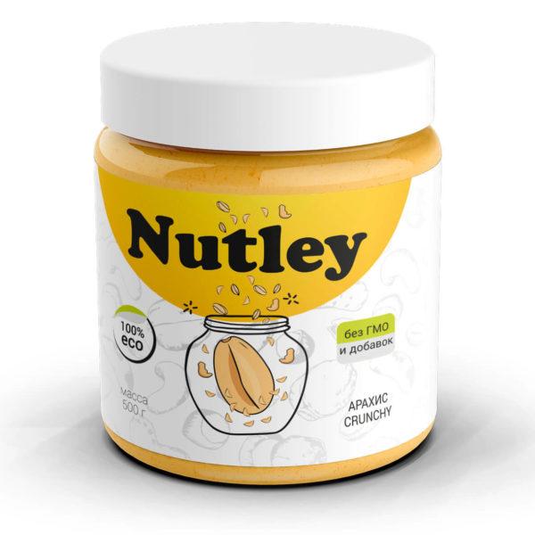 Арахисовая паста хрустящая Crunchy Nutley