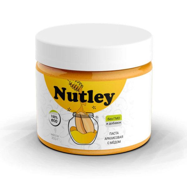 Арахисовая паста с медом (300г)