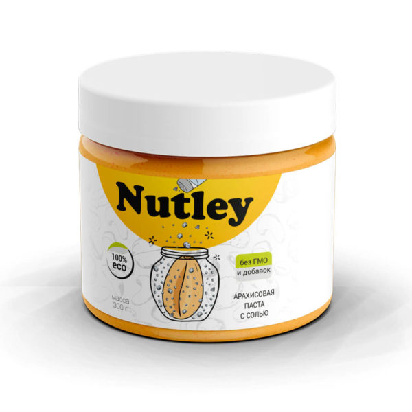 Арахисовая паста с морской солью Nutley
