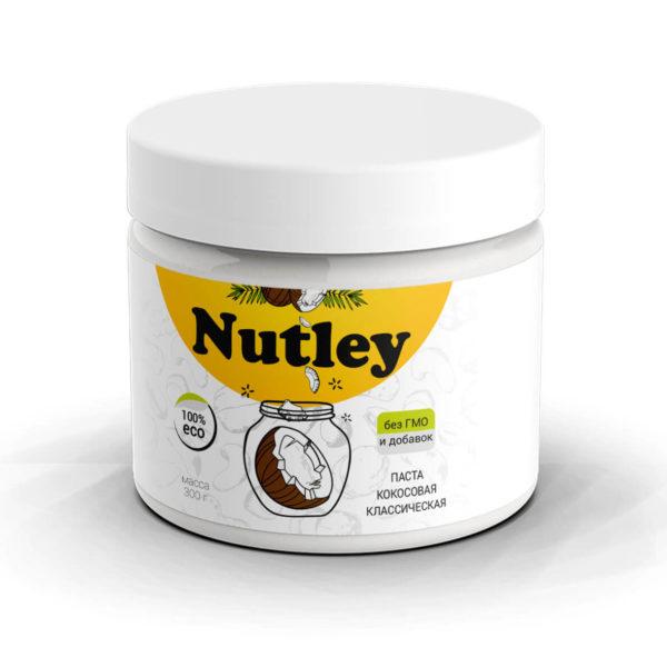 Паста кокосовая классическая Nutley