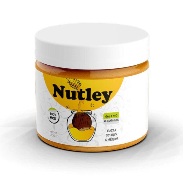 Паста из фундука с медом Nutley
