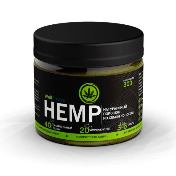 растительный (конопляный) протеин HEMP