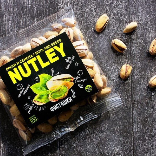 """Орехи фасованные Nutley """"Фисташки"""""""