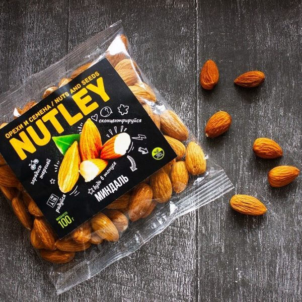 """Орехи фасованные Nutley """"Миндаль"""""""