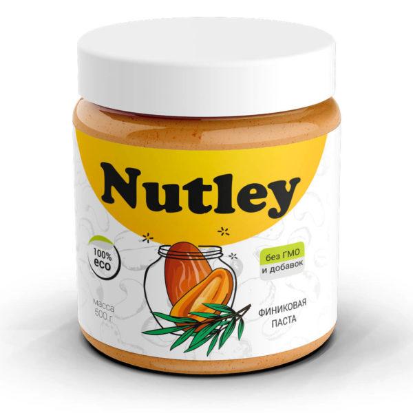 Финиковая паста Nutley (500г)