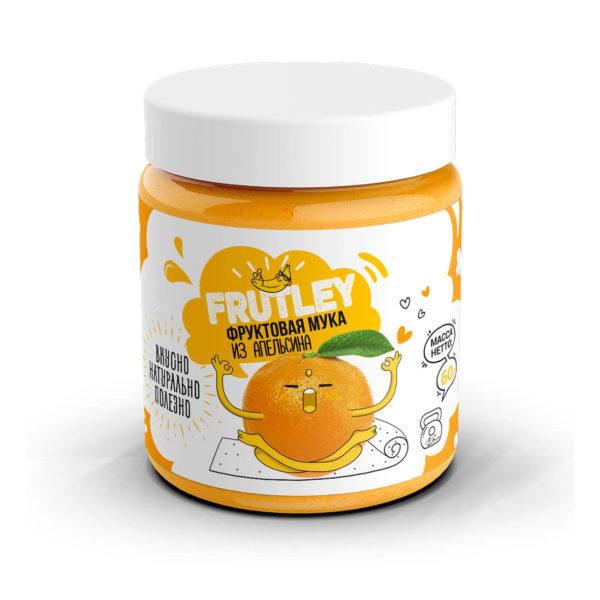 Фруктовая мука апельсиновая Frutley